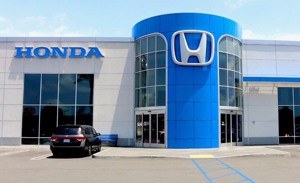 Scott Robinson Honda dealership, Torrance, California