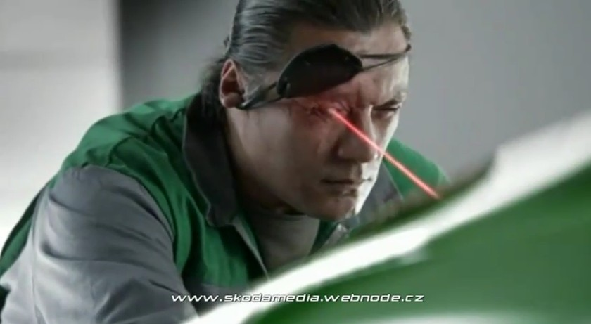 Screencap for Skoda Fabia vRS ad