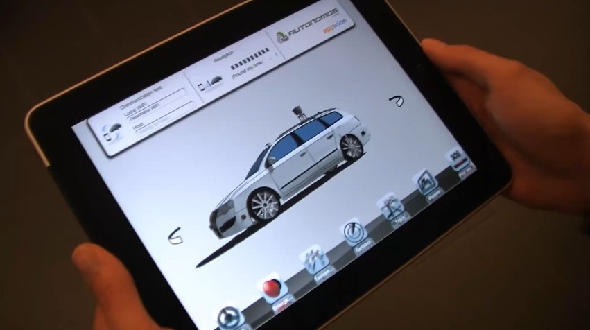 Video: Yes, You Can Finally Drive Your Car With An iPad. Well, Almost.