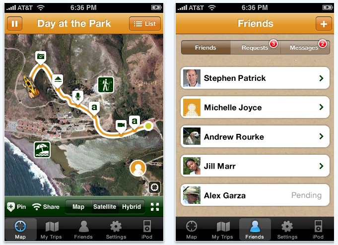 Share Your Summer Adventures With Jeep's Free TripCast App For iPhone