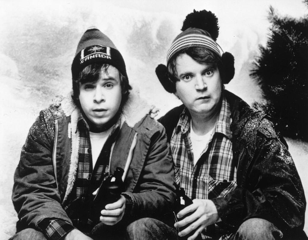 SCTV's 'Great White North' sketch, starring Rick Moranis & Dave Thomas as Bob & Doug McKenzie