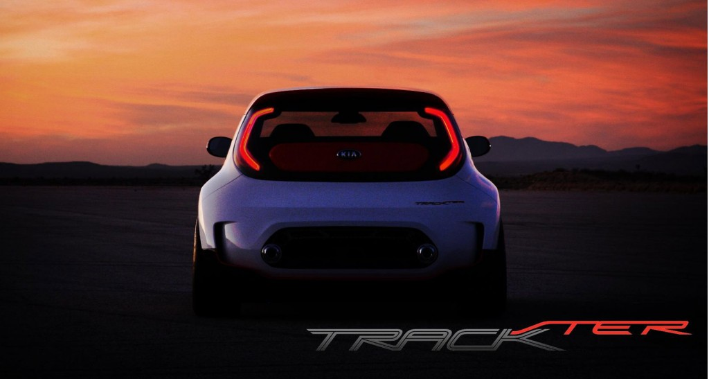 Second teaser for 2012 Kia Track-ster Concept