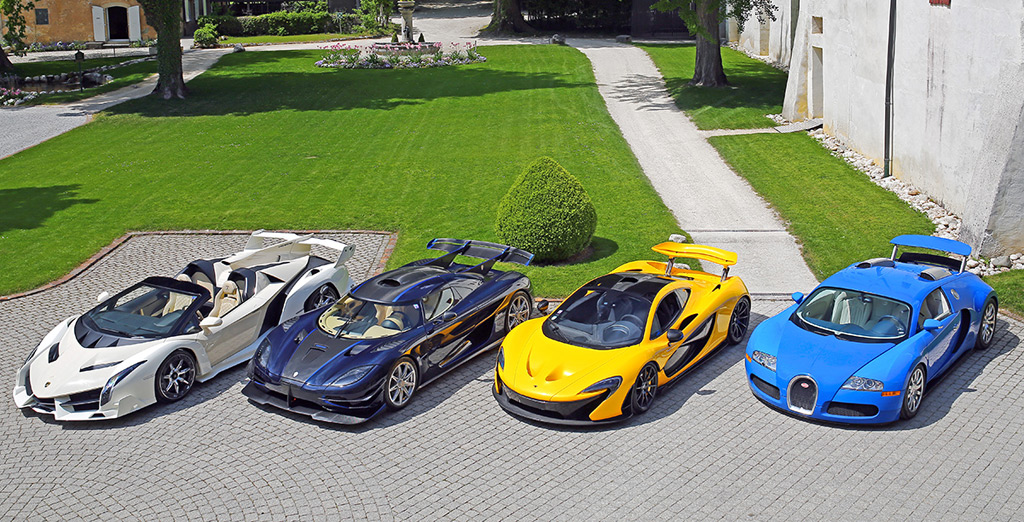 LaFerrari, One:1 among supercars of Equatorial Guinea leader's son to be sold without reserve