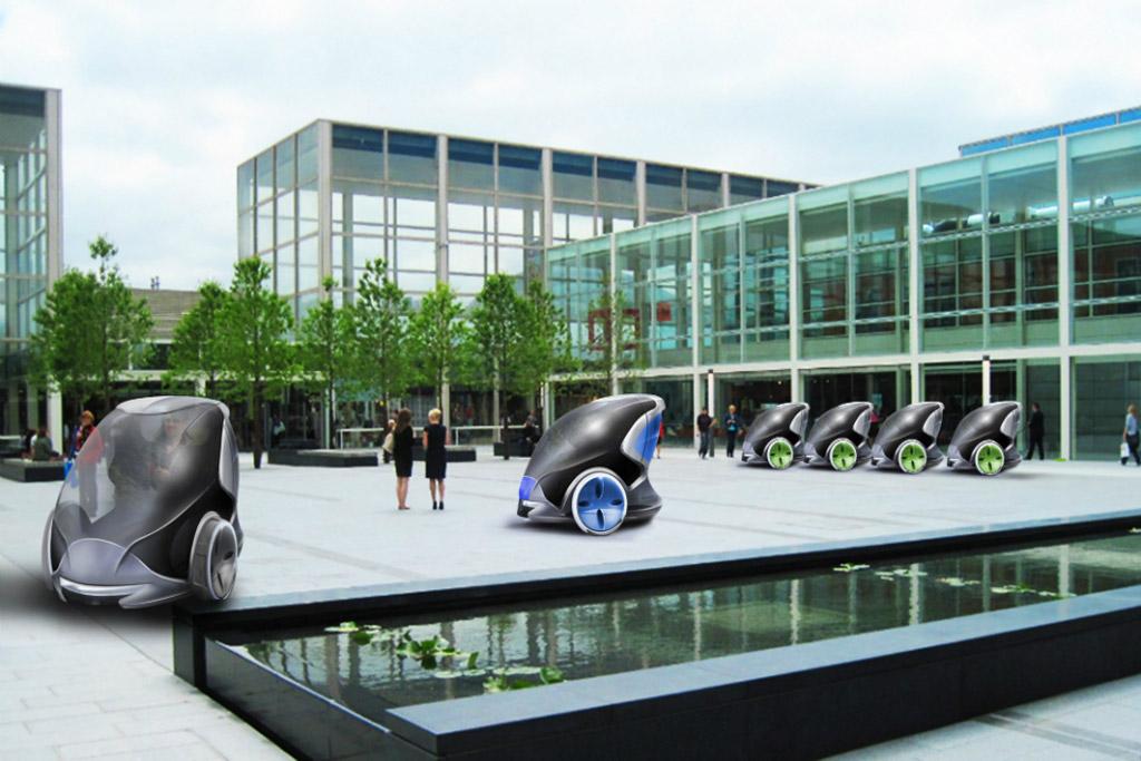 Self-driving pod car to service Milton Keynes, U.K.