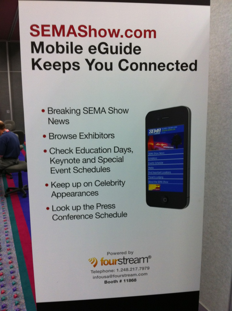 SEMA Goes Mobile With eGuide