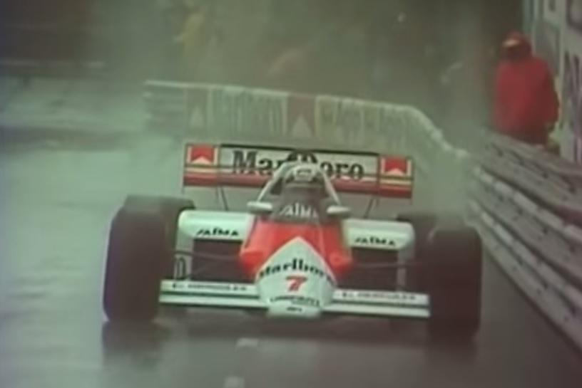 Watch Senna Catch Prost In The Rain At Monaco, Announced ...