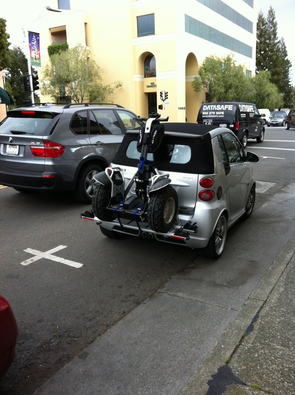 Reader pic when your segway isn 39 t enough get smart for Luxury motors of bay area