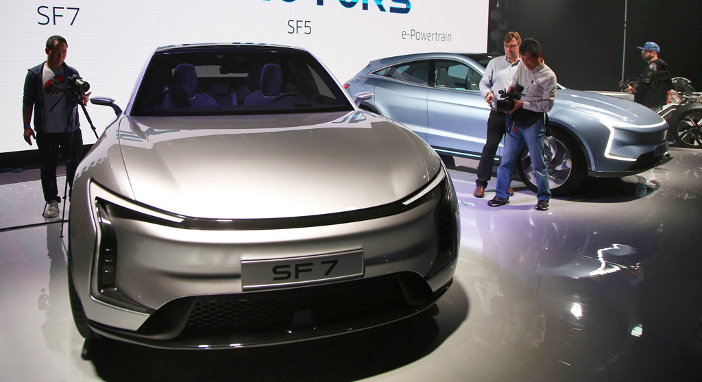 Cars For Sale Los Angeles >> SF Motors reveals first EVs to be built at ex-Hummer plant