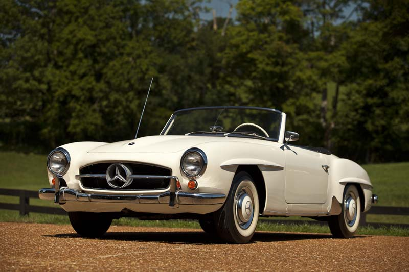 Sheryl Crow To Auction 1959 Mercedes-Benz 190 SL For ...
