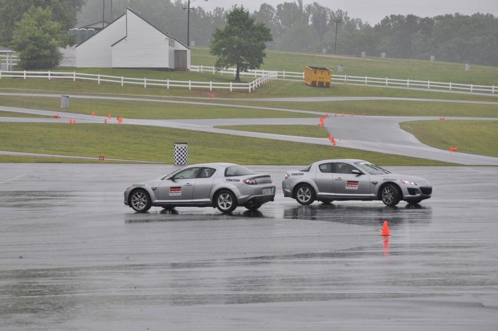 Skip Barber Mazda Driving School - Skidpad