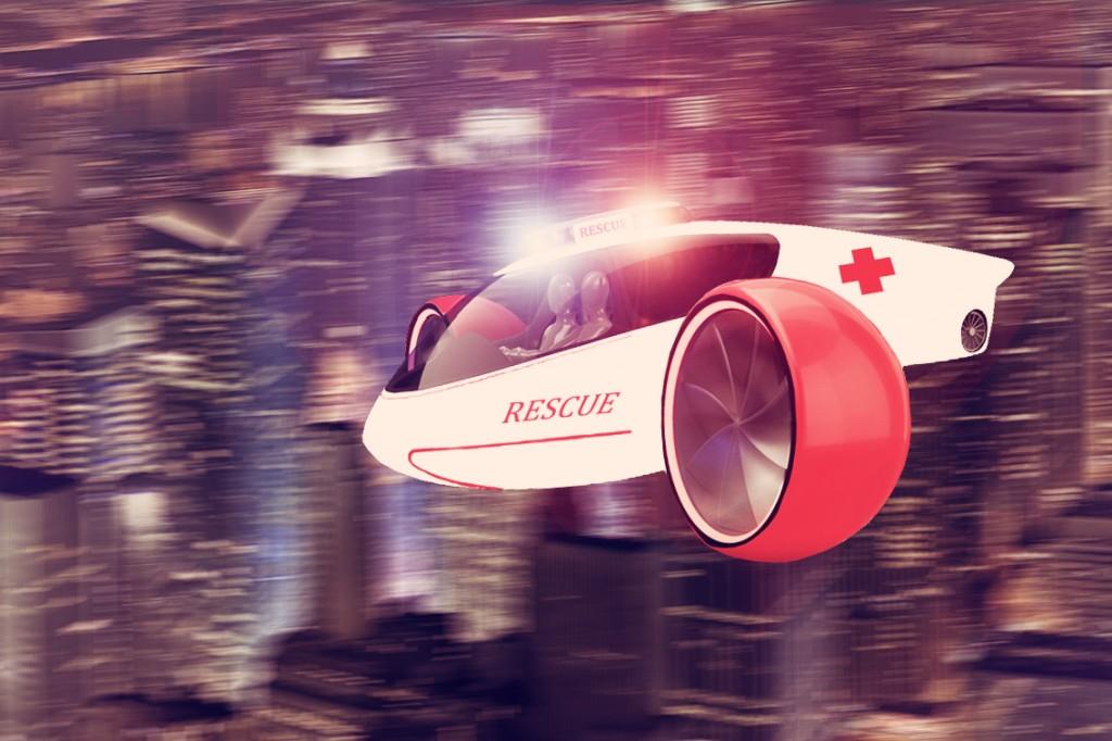 Skylys flying car (via Indiegogo)