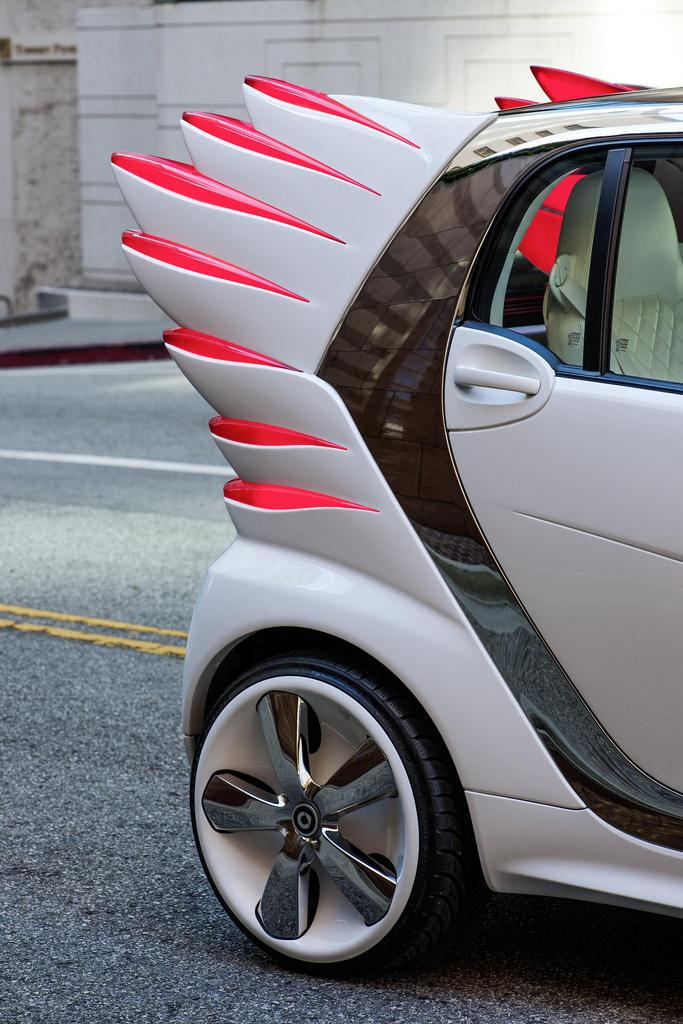 Smart 'Forjeremy' Electric Drive art car