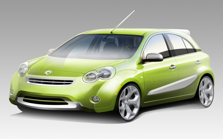 Smart four-door car to launch in 2011, based on Nissan Micra
