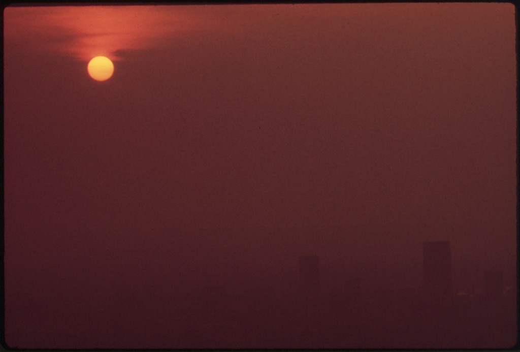 Smog over Louisville, 1972 [From EPA Documerica series]