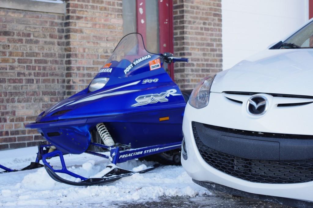 Snow Ball!  Mazda2 with Bridgestone's WS60 Blizzaks