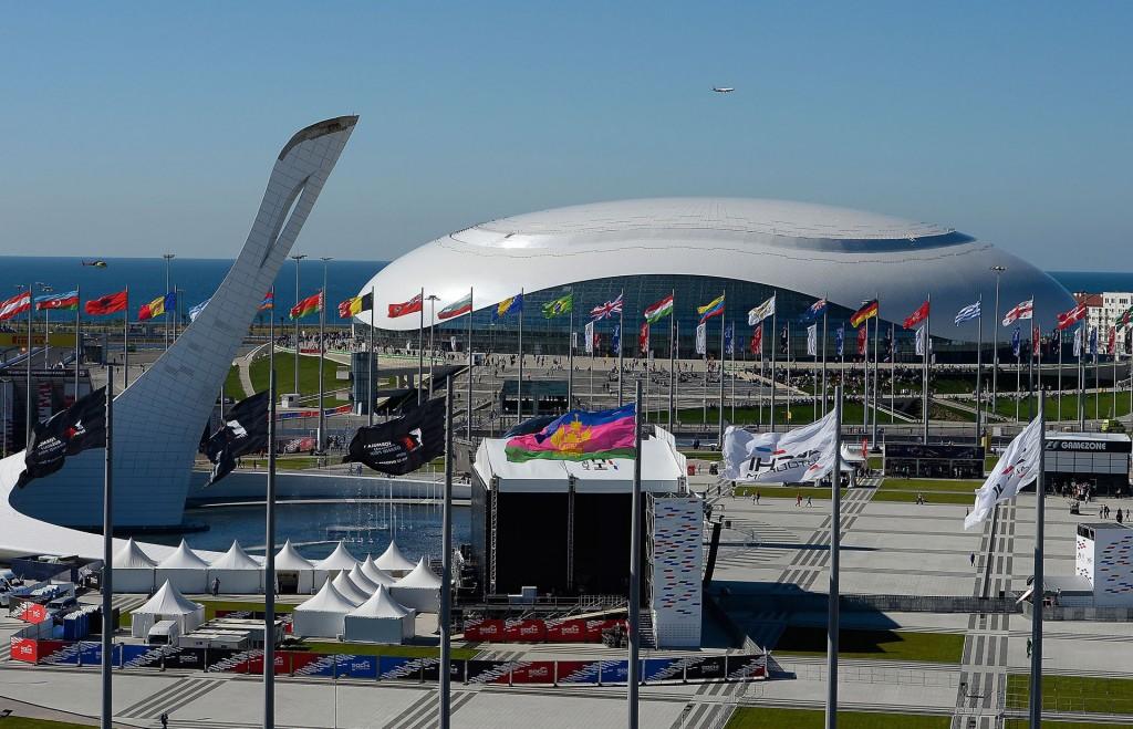 Sochi Autodrom, home of the Formula One Russian Grand Prix