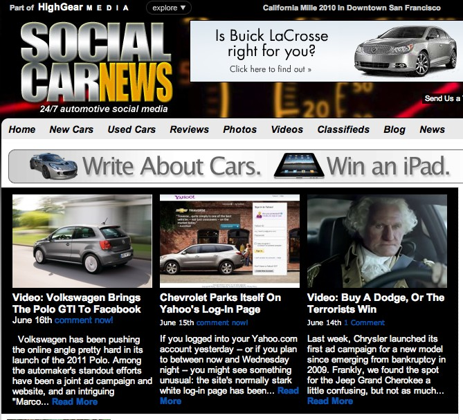 High Gear Media Gets #Social With Your #Car #News