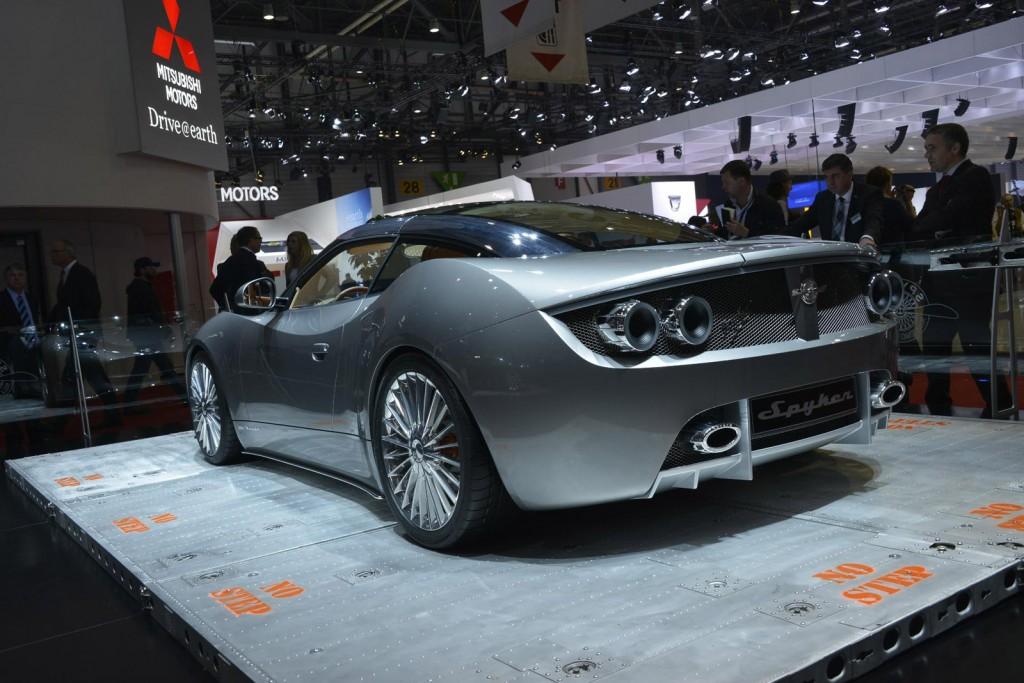 Spyker B6 Venator concept car, 2013 Geneva Motor Show