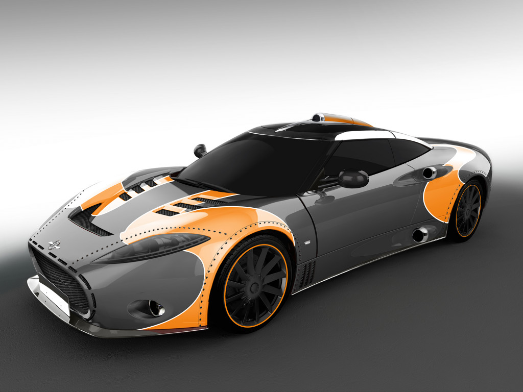 Spyker celebrates end of C8 Aileron production