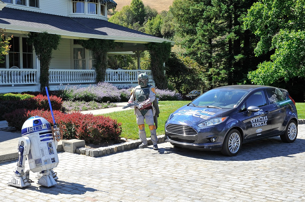 Star Wars-themed Ford Fiesta for 'Course of the Force'