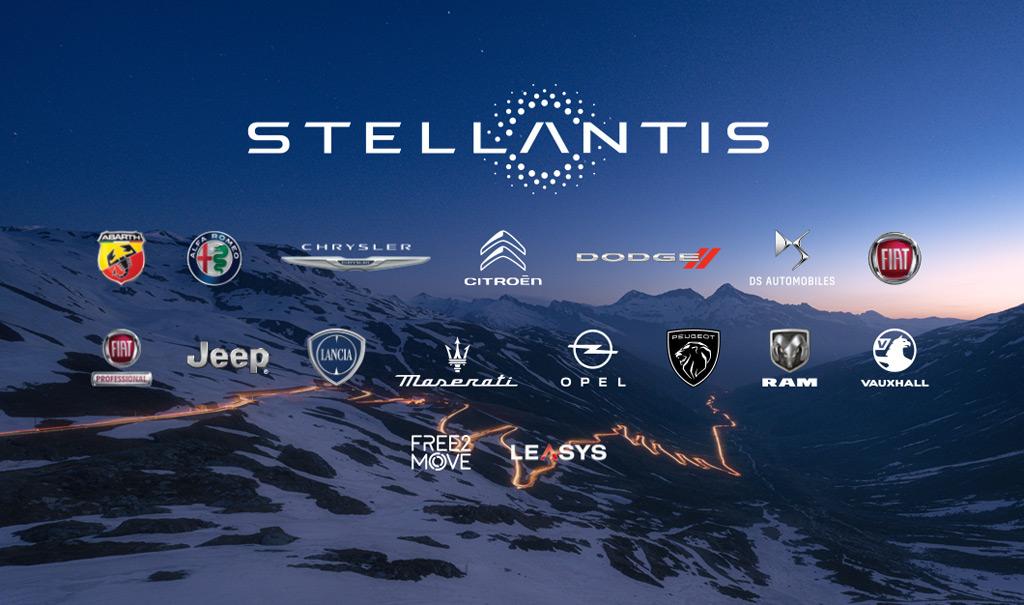 Stellantis brands