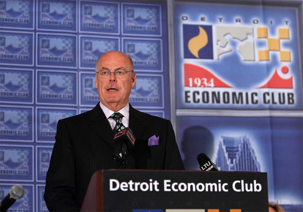 Steve Miller at Econ Club