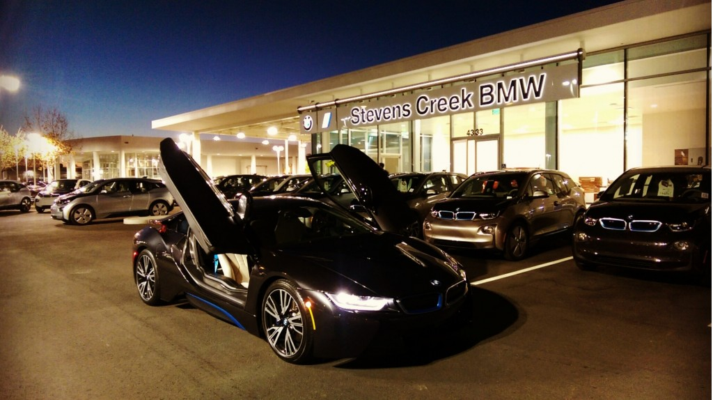 Stevens Creek Bmw Service >> First Standalone Bmw Electric Car Sales Facility Opens In
