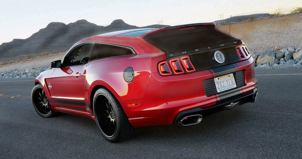 Shelby Gt500 2016 >> Mustang Shelby Gt500 Shooting Brake Is Vaporware But We