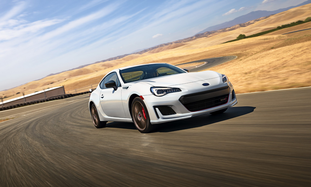 Subaru's track-focused BRZ tS returns for 2020--with understated looks