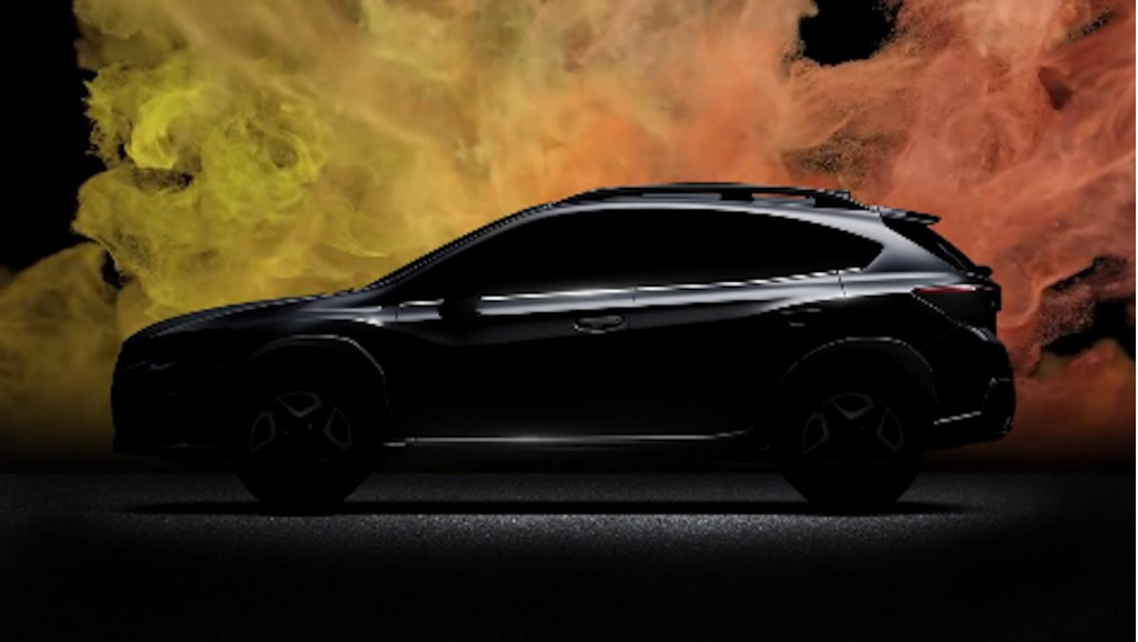 Subaru Crosstrek teased