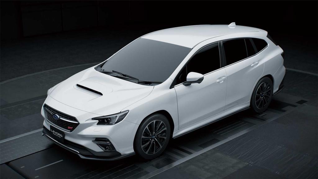 Subaru's next-gen Levorg STI Sport previewed at 2020 Tokyo Auto Salon