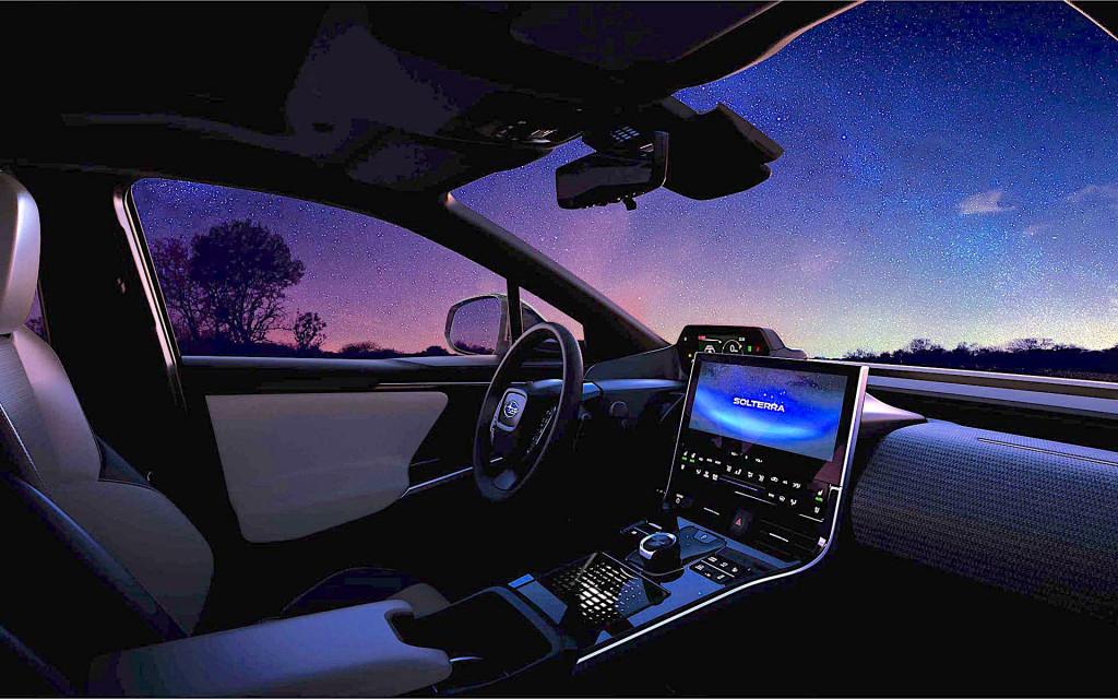 Avance del SUV eléctrico Subaru Solterra