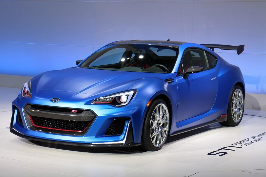 Subaru Unveils Radical Sti Performance Concept In New York Live Photos