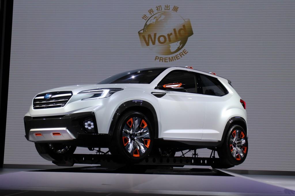 Subaru Viziv Future Concept Previews Next Generation Hybrid System