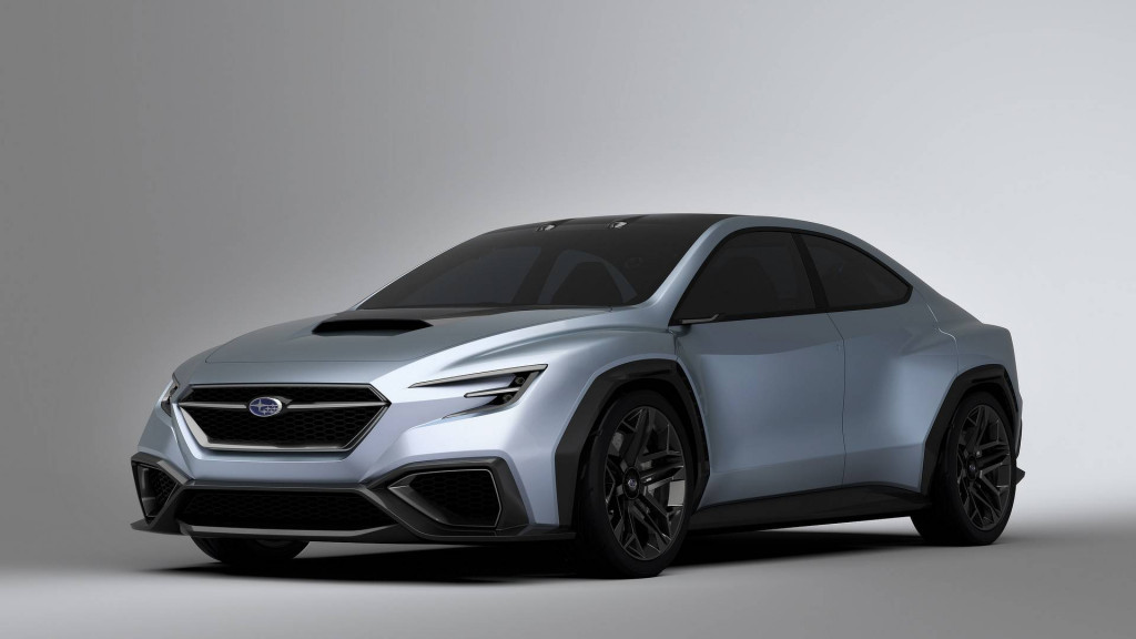 Latest Subaru Viziv concept could hint at next-gen WRX STI