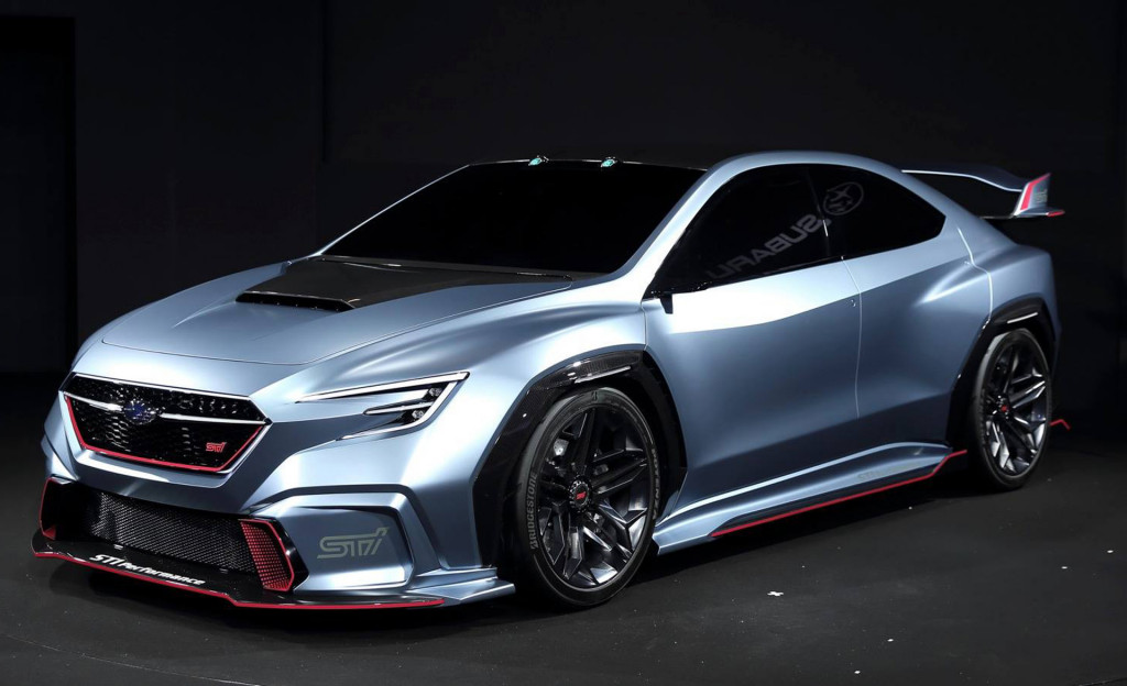 Subaru Viziv Performance Sti Concept Debuts Could Hint At Next Gen Wrx