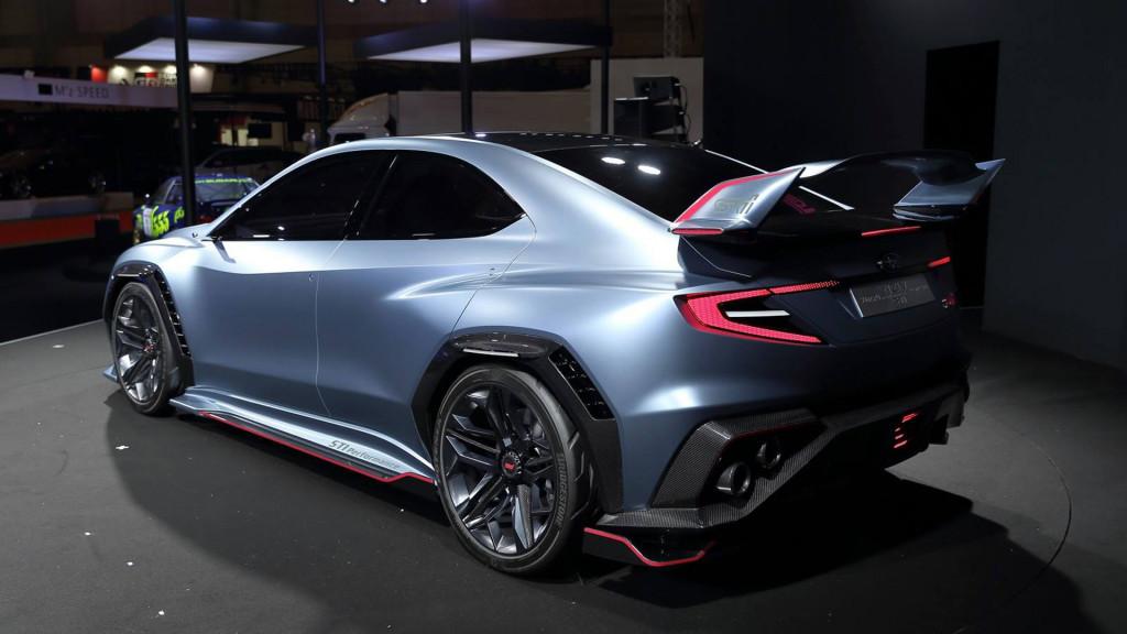 Subaru Viziv Performance STI concept debuts, could hint at next-gen WRX STI