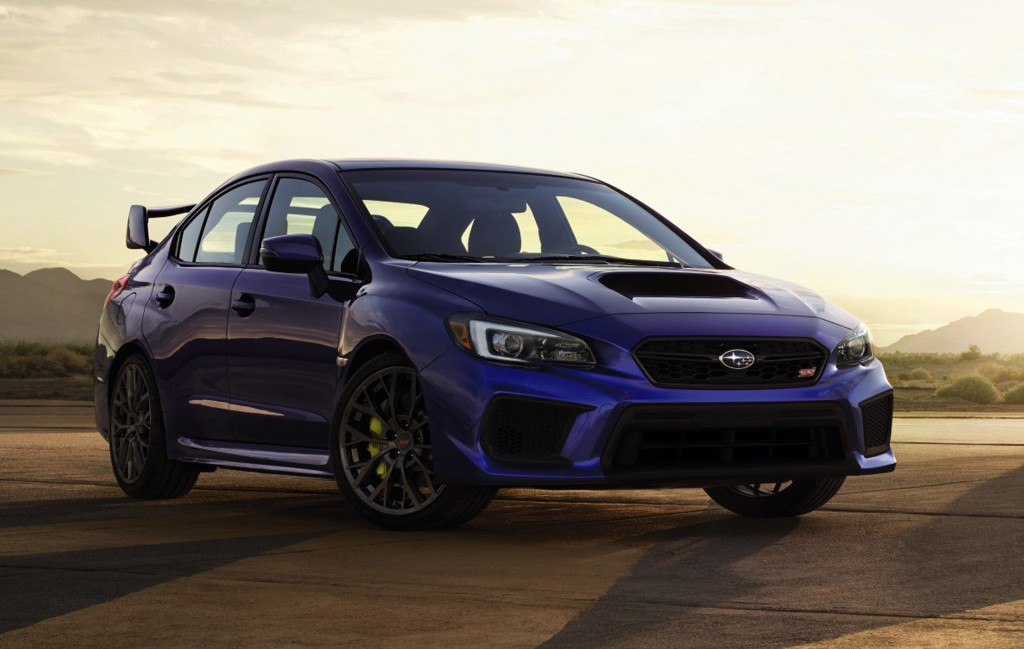 New 2018 Subaru WRX and WRX STI get mild updates, still missing something