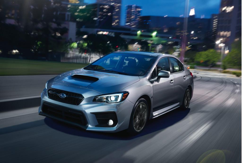 2020 Subaru WRX and WRX STI preview