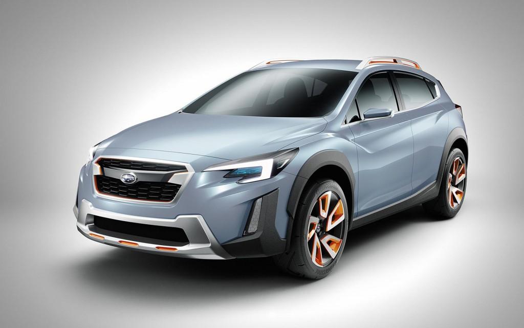 Subaru Xv Concept 2016 Geneva Motor Show