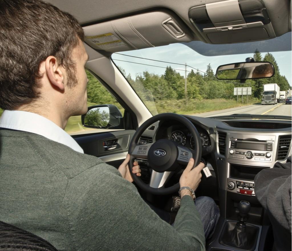Halvorson in 2010 Subaru Legacy 2.5i