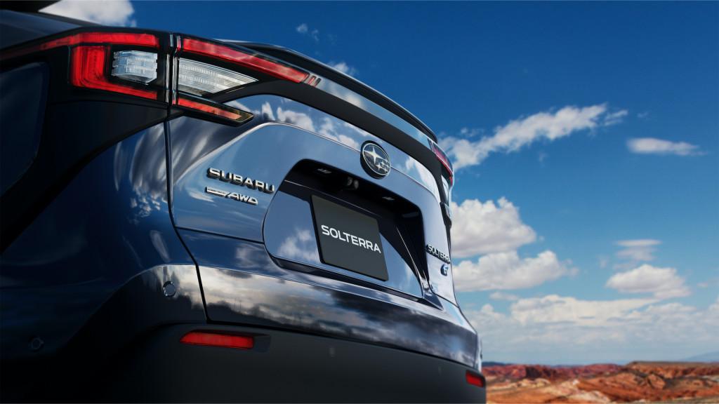 Avance de Subaru Solterra 2023