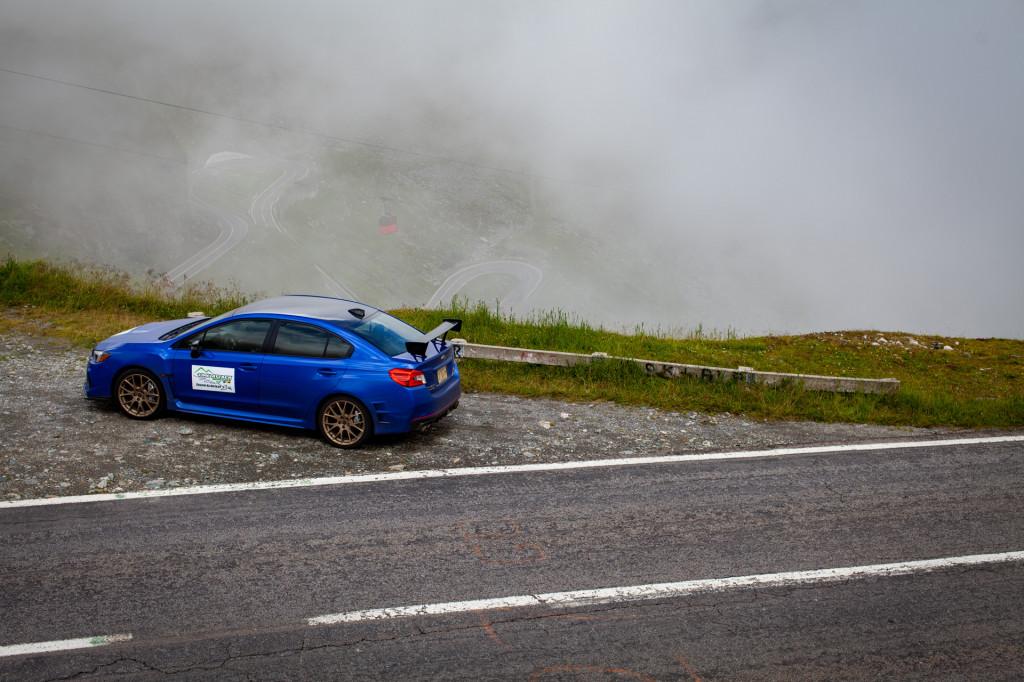 Romanian roulette: Subaru, Prodrive take a record-setting gamble up legendary highway