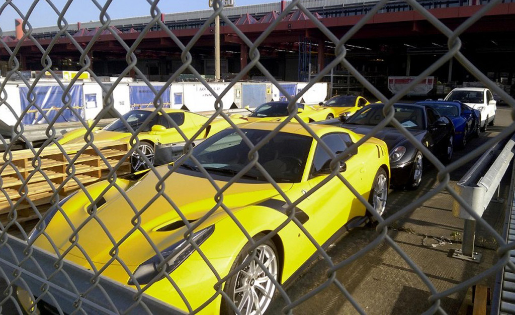 8 more supercars of African dictator's son seized ...