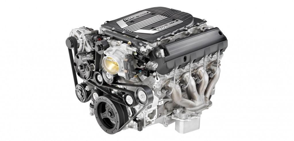 Supercharged 6.2-liter LT4 V-8