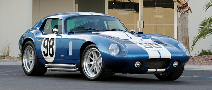 Driving the Superformance Shelby Cobra Daytona Coupe