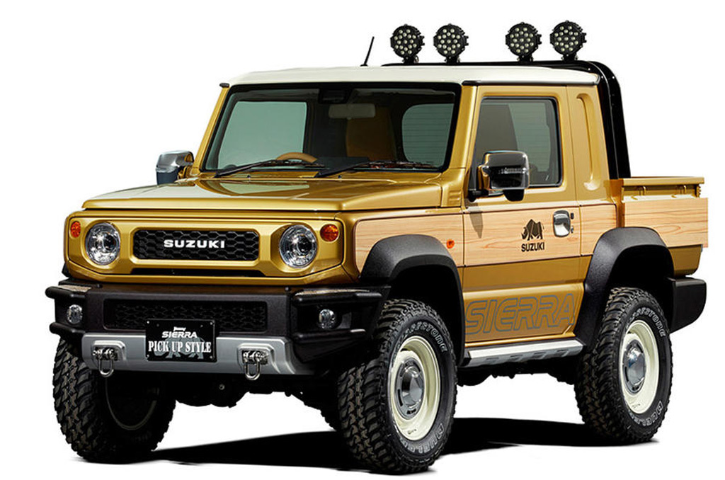 2020 Suzuki Jimny One Of The Best Non-US Off-Roaders >> Suzuki Hints At Jimny Pickup With Tokyo Auto Salon Concept