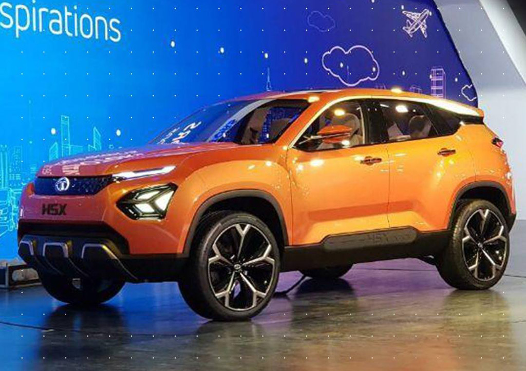 Tata H5x Concept Is Indian Firm S First Vehicle Based On Jaguar Land Rover Platform