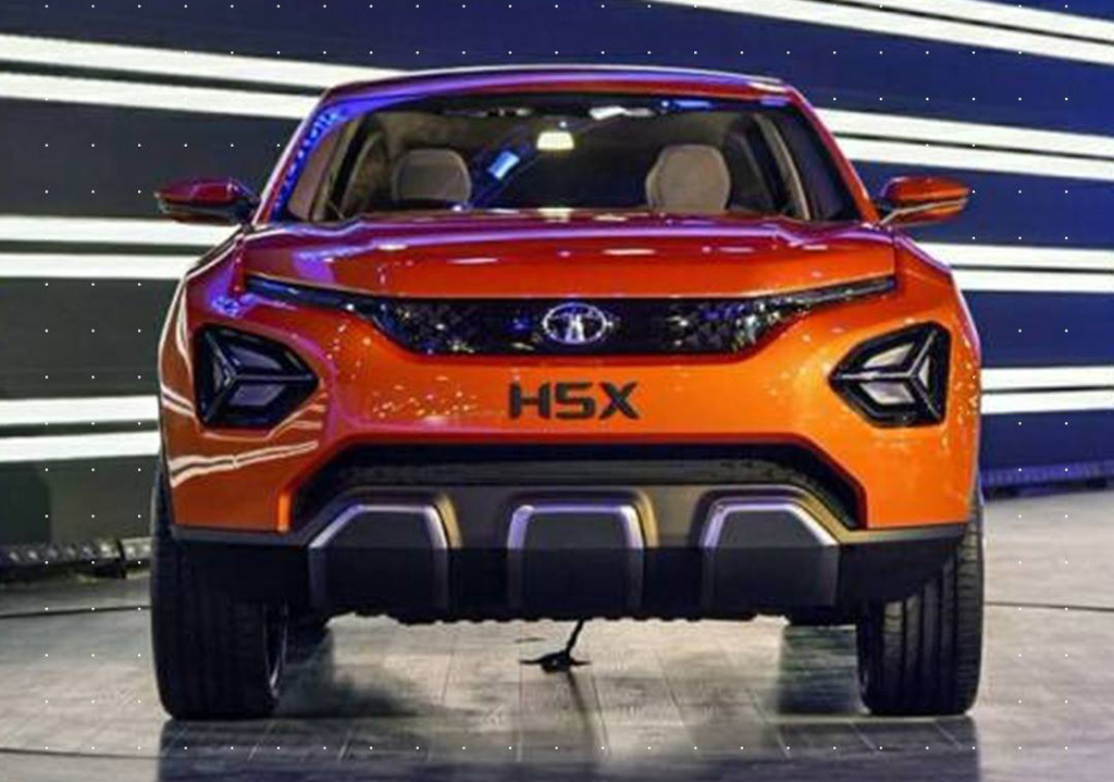Tata H5X concept is Indian firm's first vehicle based on Jaguar Land Rover platform