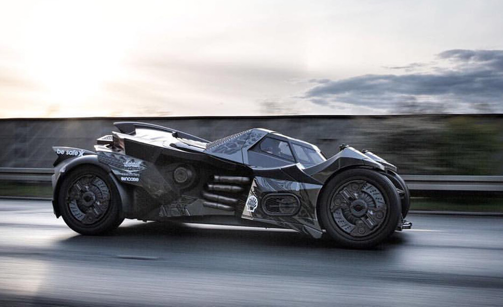 Meet Team Galag's Gallardo-based, carbon fiber-bodied Batmobile